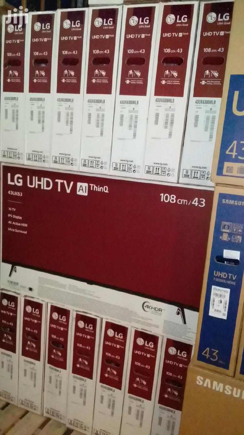 Lg Uhd 4k Smart Satellite Tv 43 Inches