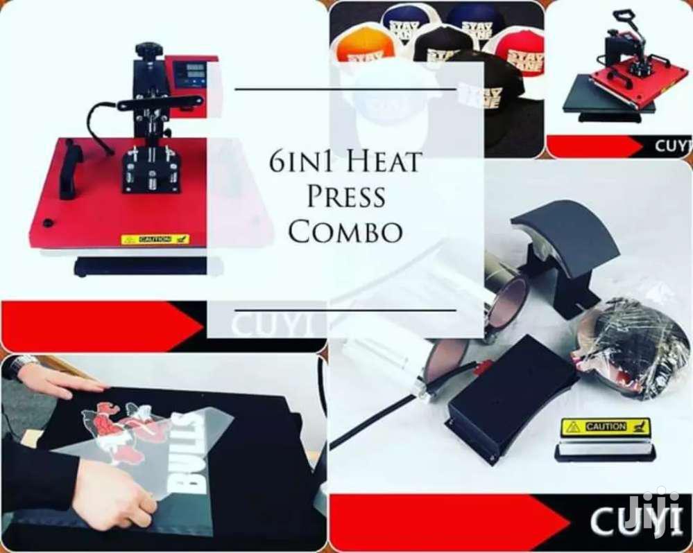 Archive: 6 In 1 Heat Press Combo
