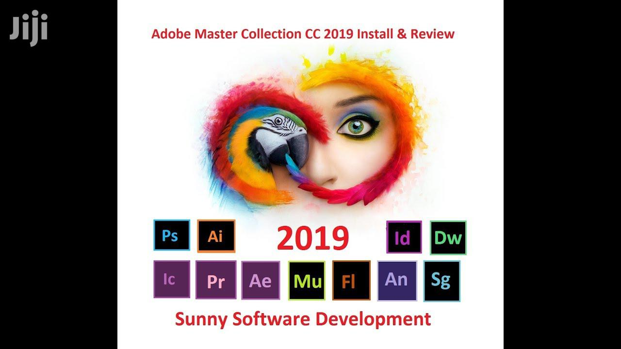 Archive: Adobe Master Collection CC 2019 Pack
