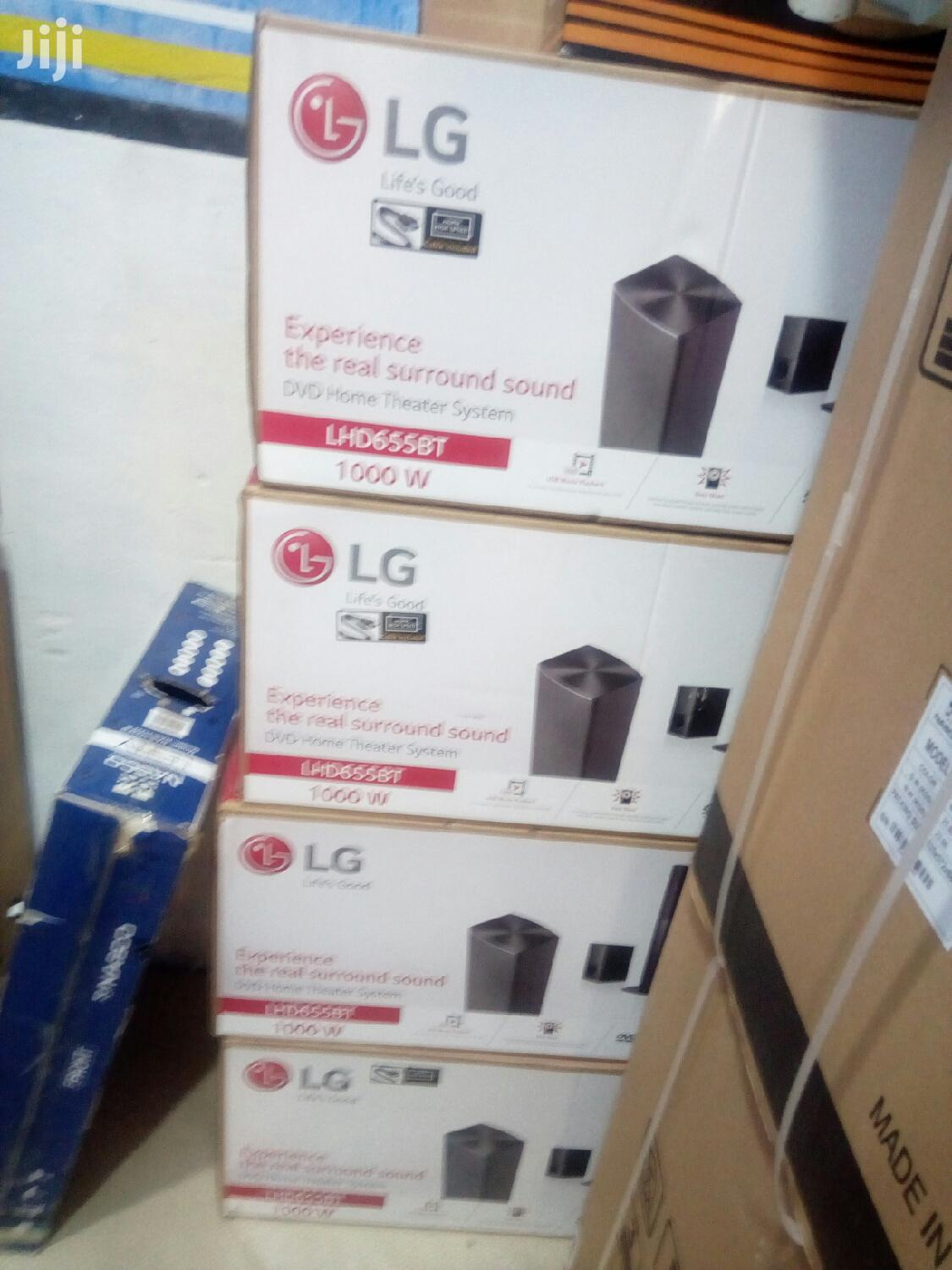 New LG 1000W Home Theater System