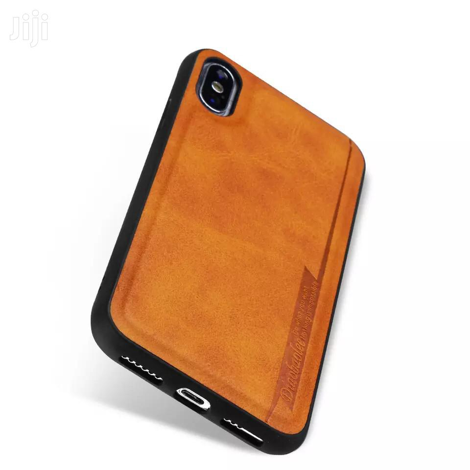 Leather Case 4 iPhone 11promax 11pro 1 Xsmax Xr Xs X 8p 7p 6plus 8 7 6 | Accessories for Mobile Phones & Tablets for sale in Ga South Municipal, Greater Accra, Ghana
