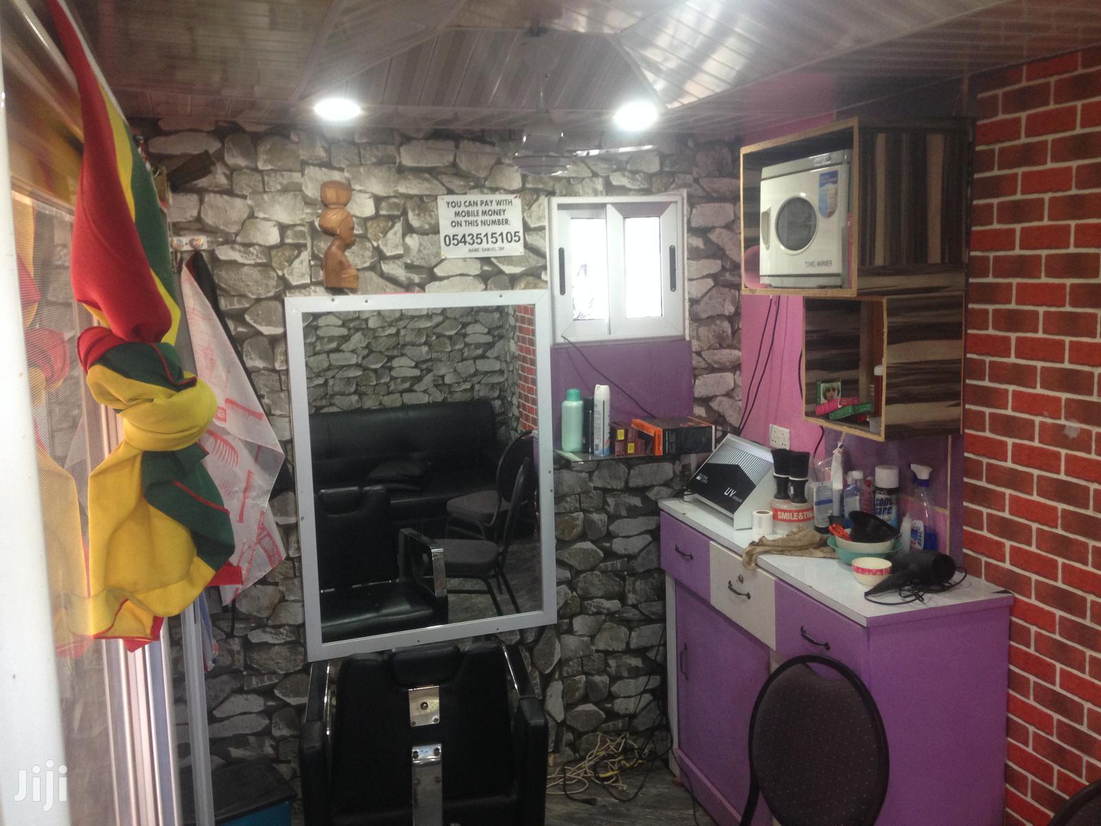 Archive: Barbering Salon For Sale