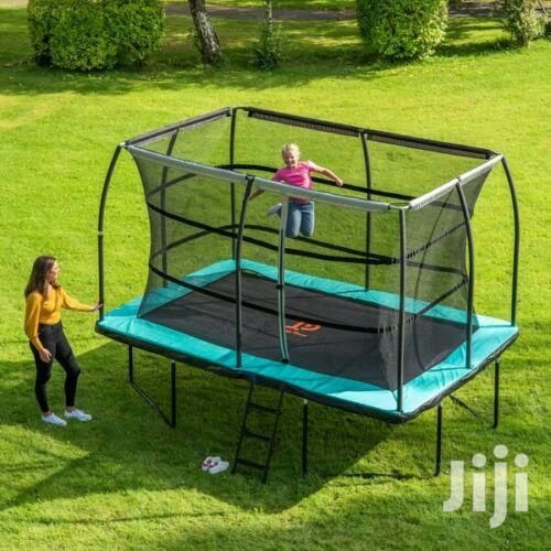 10ft X 8ft Rectangular Trampoline | Sports Equipment for sale in Adenta Municipal, Greater Accra, Ghana
