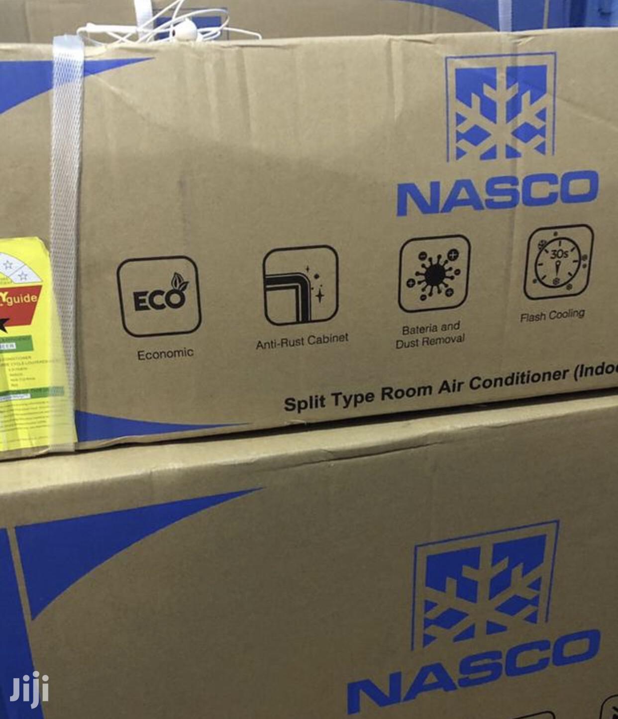 Anti Rust- Nasco 1.5 HP Split Air Conditioner New