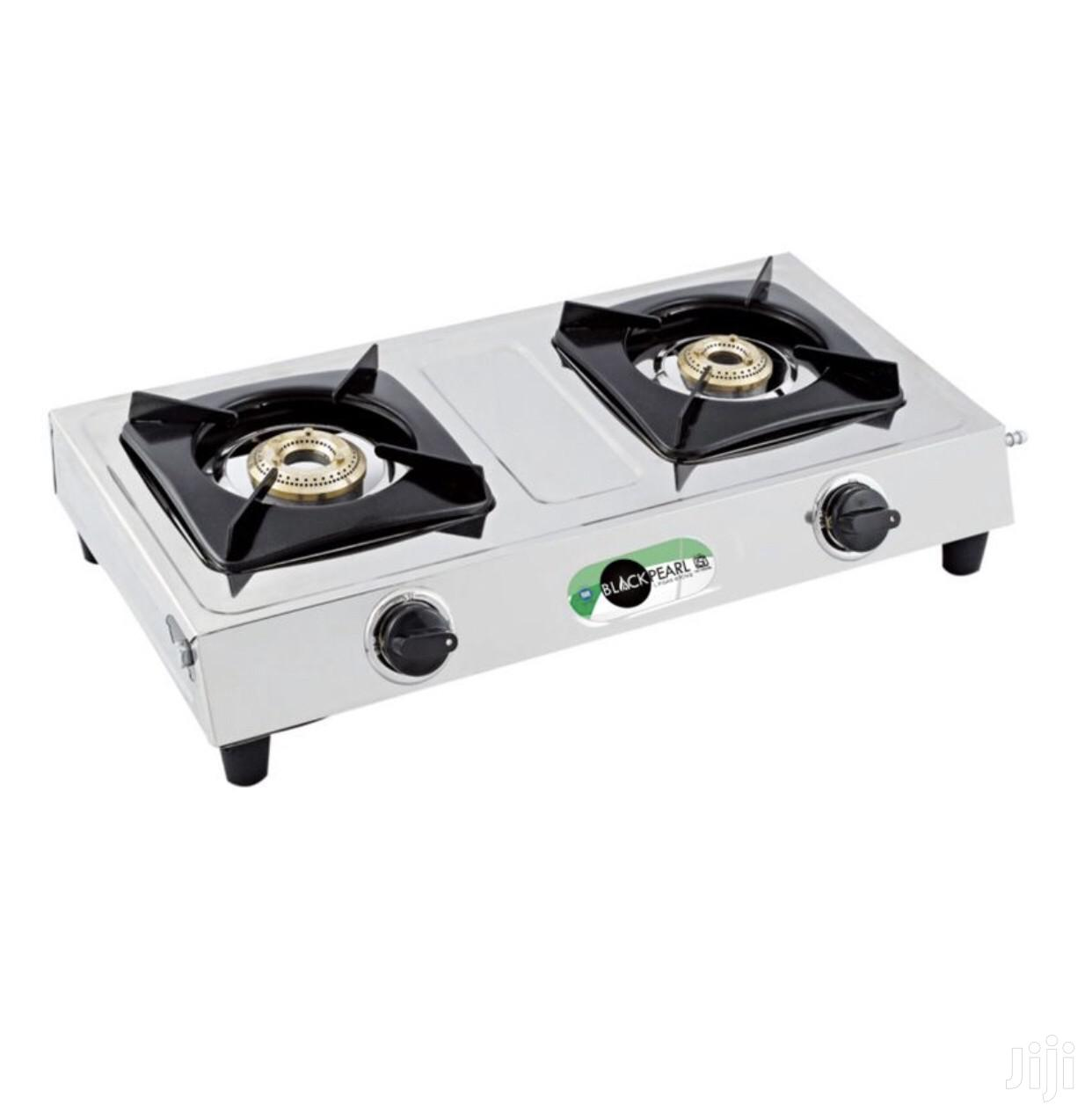 Stainless Steel- Innova 2 Burner Gas Stove New