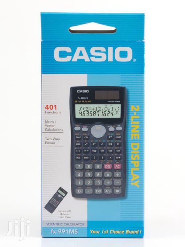 Archive: Casio Fx-991 Ms Scientific Calculator