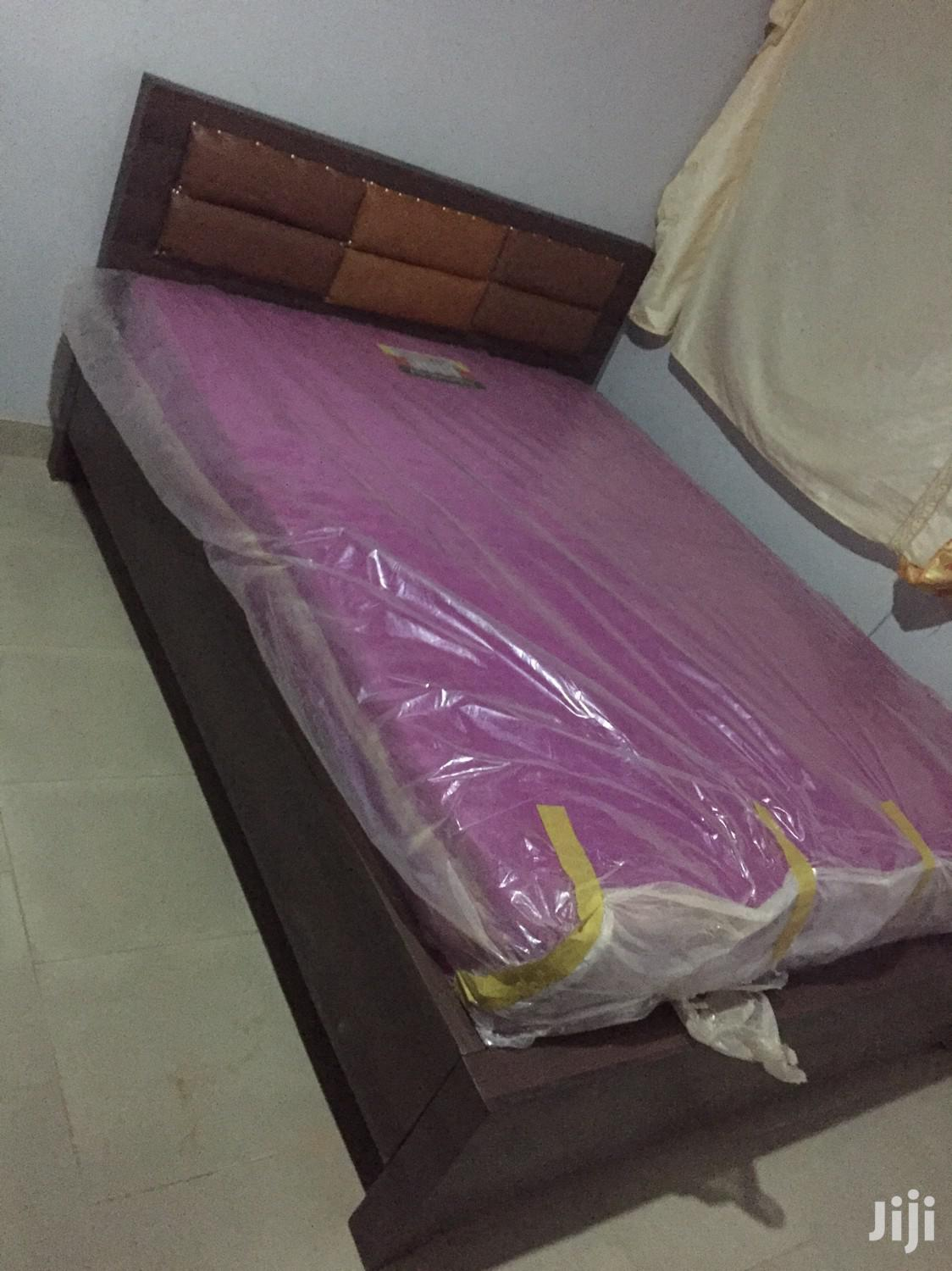 American Double Bed With Mattress for Sell.