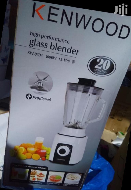 Archive: Glass Blender