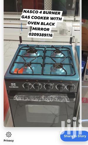 Nasco 4 Burner Gas Cooker With Oven Black   Kitchen Appliances for sale in Greater Accra, Accra Metropolitan