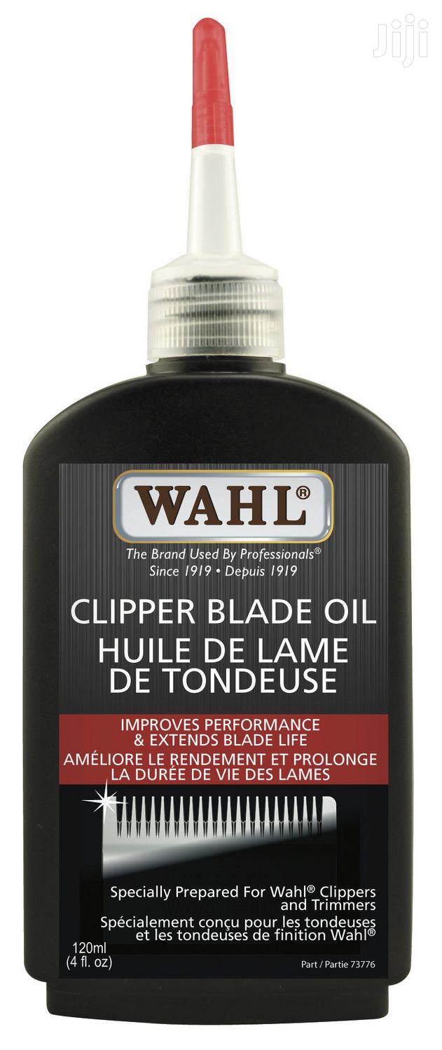 Archive: Wahl Hair Oil For Clippers