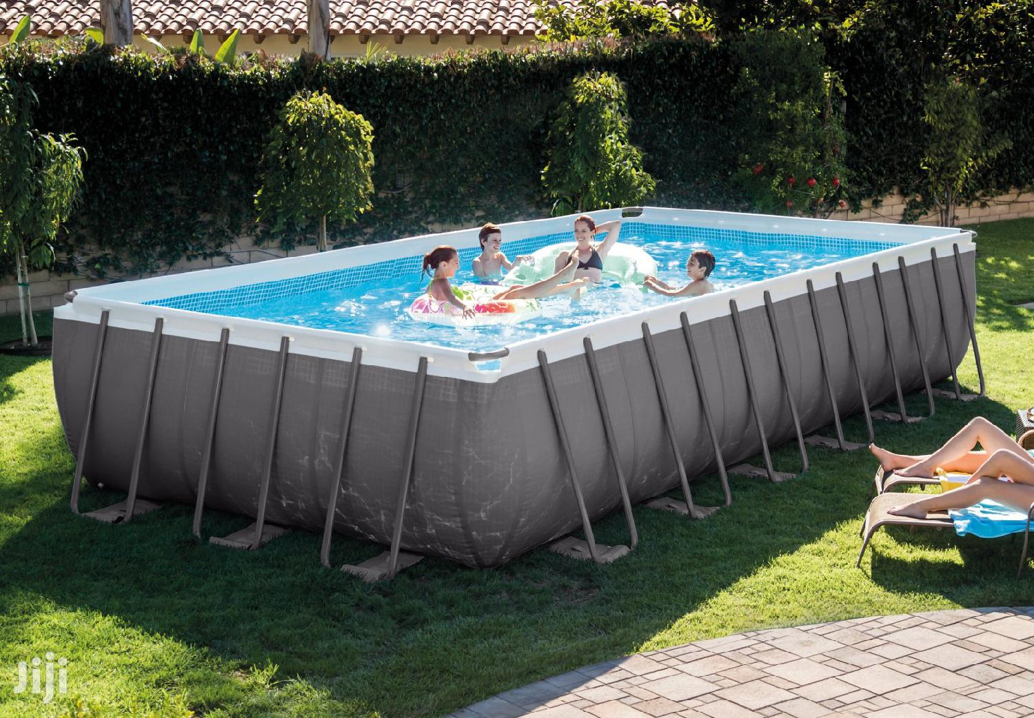 Archive: 18ft Feet Swimming Pool Intex New Big Boxed