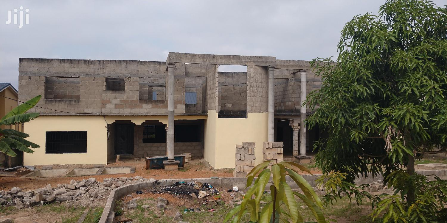 Archive: 4 Flats House at Asokore Mampong Borban Main Road