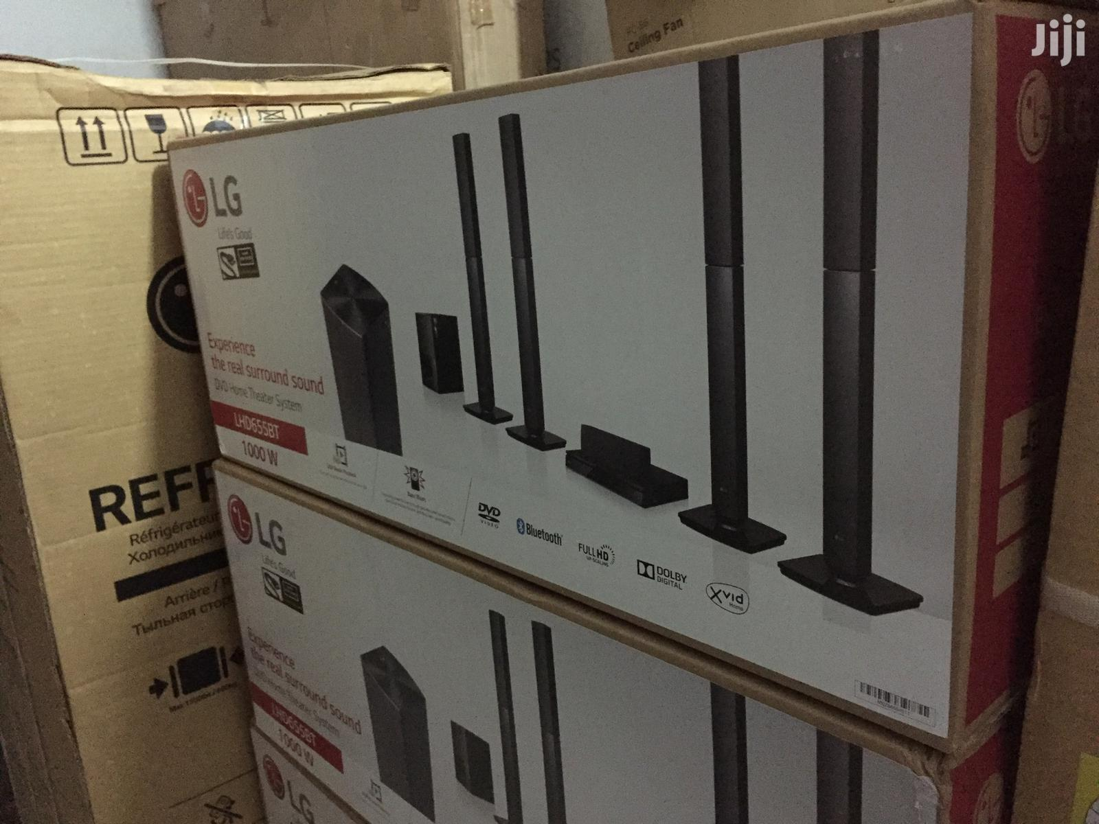 LG 1000W 5.1ch. Home Theatre System [Lhd655bt] | Audio & Music Equipment for sale in Dzorwulu, Greater Accra, Ghana