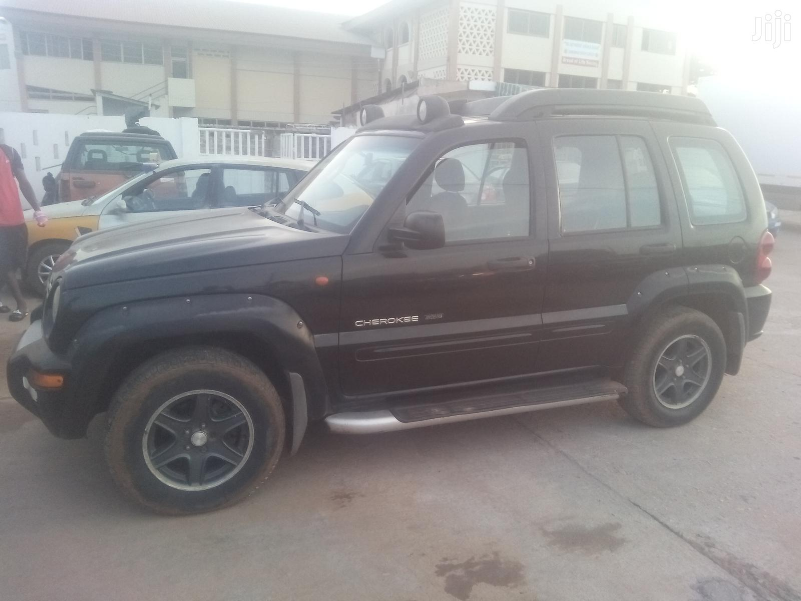 Jeep Liberty 2004 Limited 4WD Black | Cars for sale in Dansoman, Greater Accra, Ghana