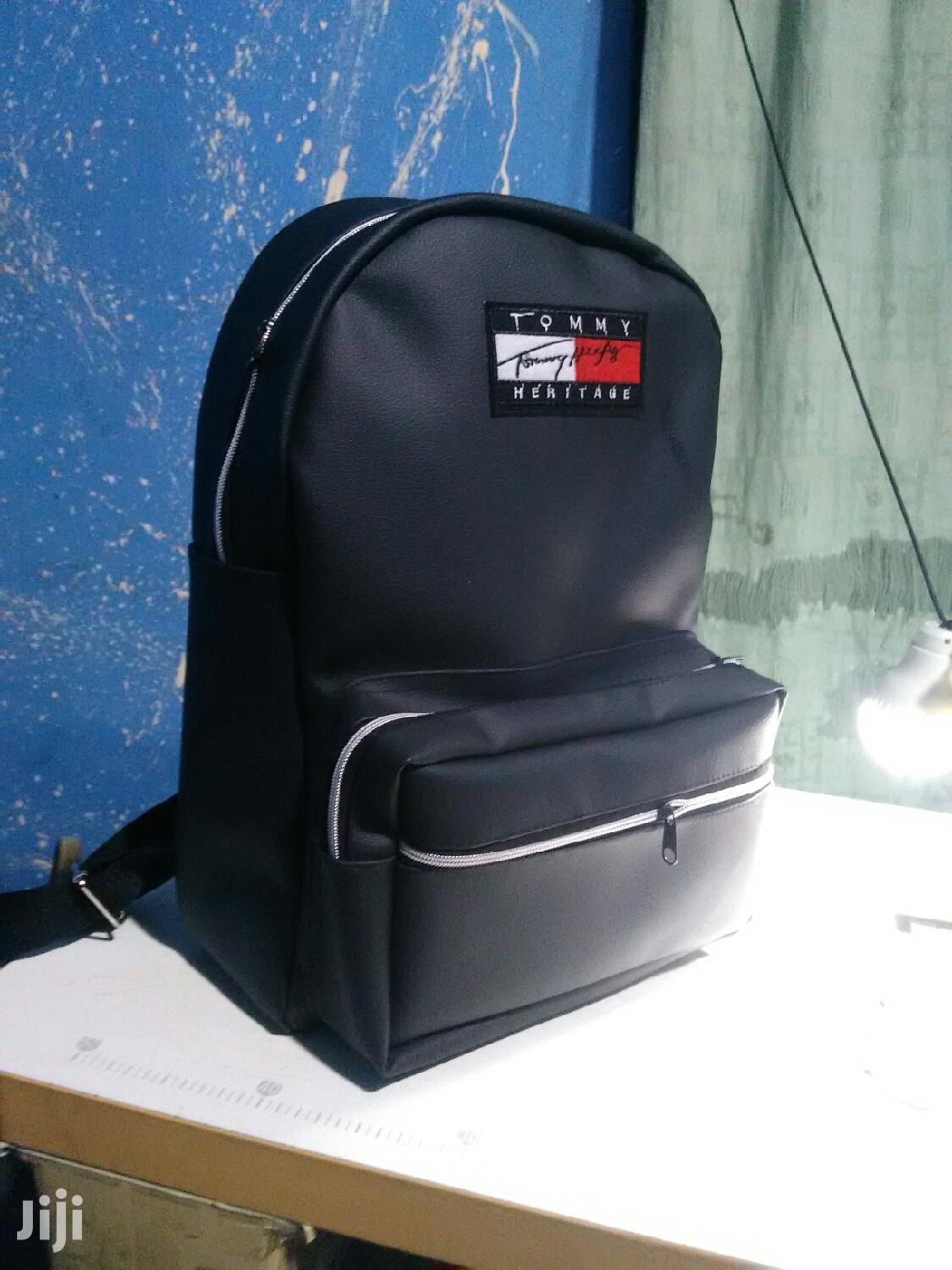 Tommy Black Backpack | Bags for sale in Achimota, Greater Accra, Ghana