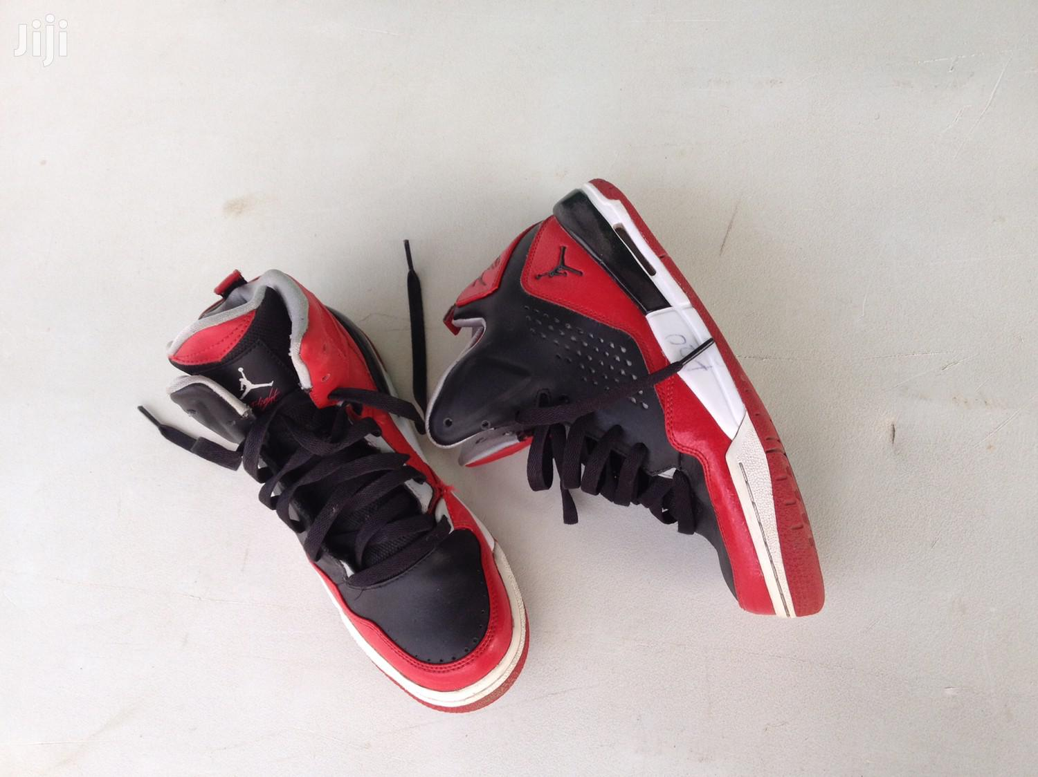Used But Neat Jordan Sneaker For Kids From U.K For Sale | Children's Shoes for sale in North Kaneshie, Greater Accra, Ghana