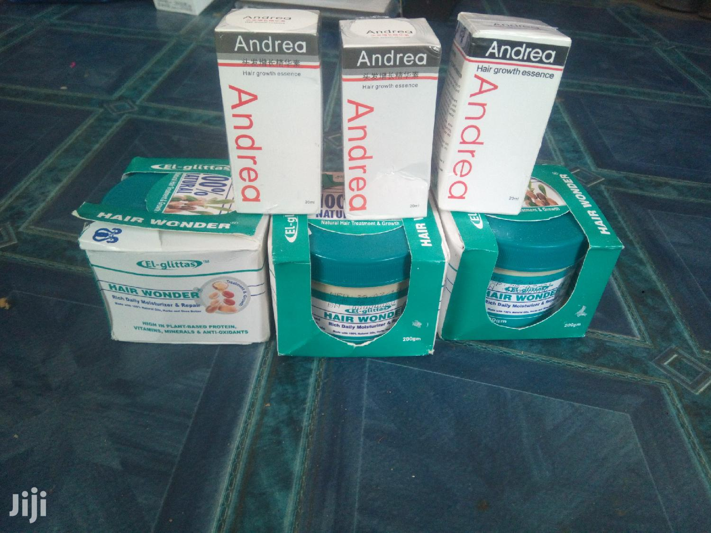 Archive: Andrea Hair Growth Oil And Hair Wonder Cream