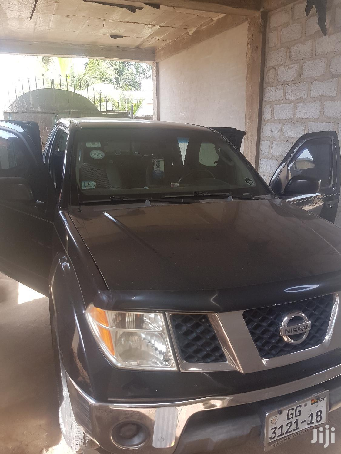 Nissan Frontier King Cab SE 4x4 2007 Black | Cars for sale in Ga West Municipal, Greater Accra, Ghana
