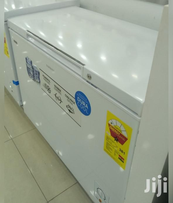 Archive: 200L White Samsung Chest Freezer ( Deep Freezer )