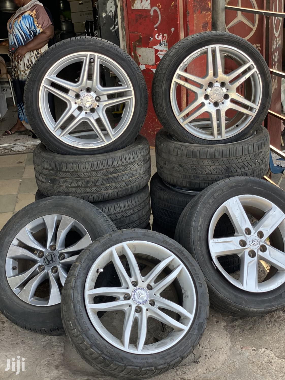 Archive: All Kinds Of Rims And Tyres Available