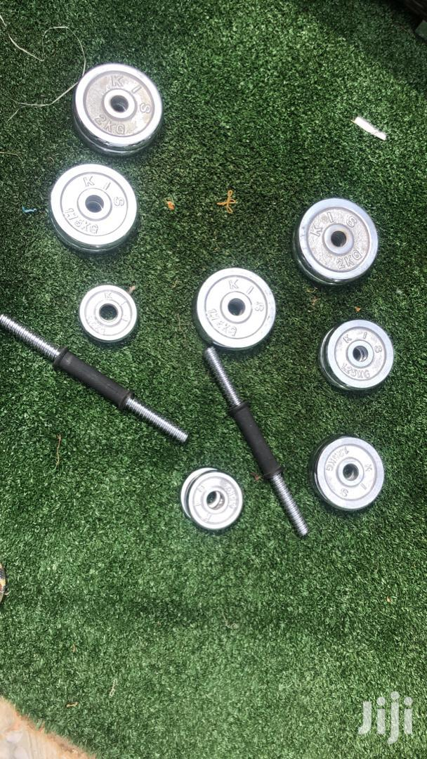 Adjustable Weight Dumbbells/Dumbbell   Sports Equipment for sale in Korle Gonno, Greater Accra, Ghana