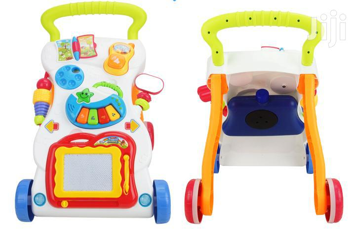 3 in 1 Baby Walker With Music and Tank