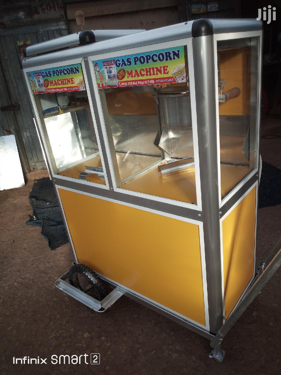 Popcorn Machine Mobile Once