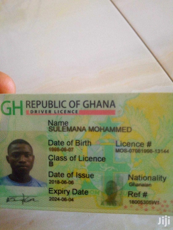 Drivers License B