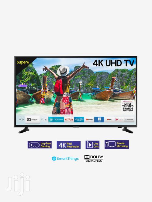 "Discover Latest Movies Samsung 43""Smart 4K Ultra HD Led Tele"