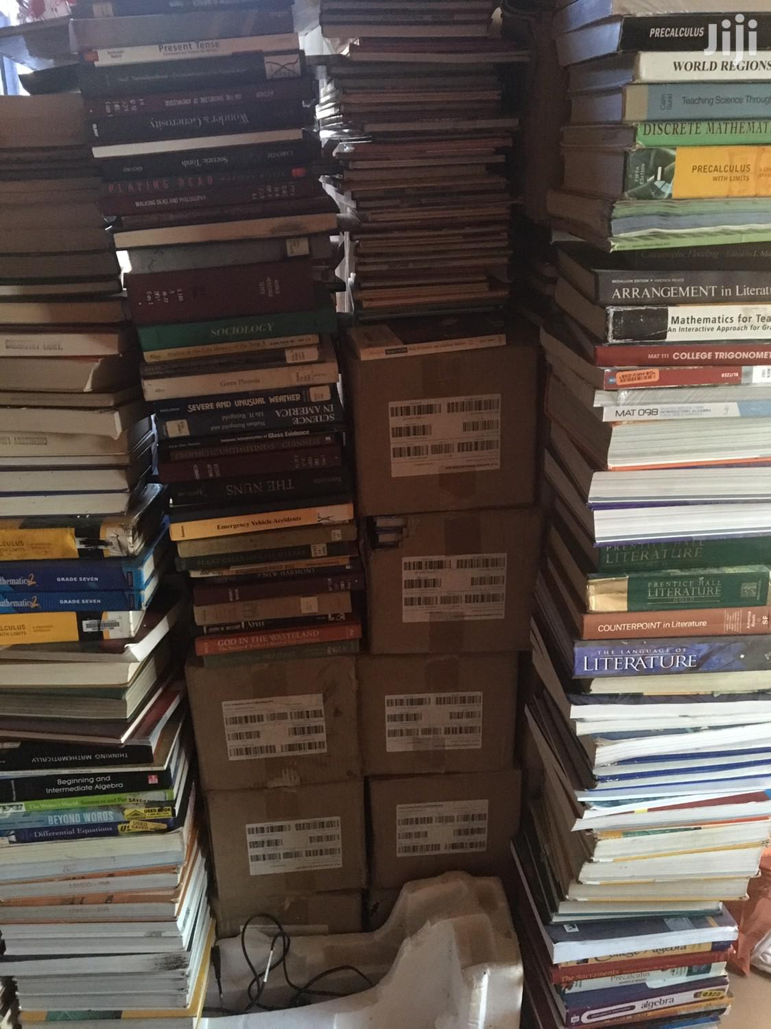 Archive: Assorted Used Books