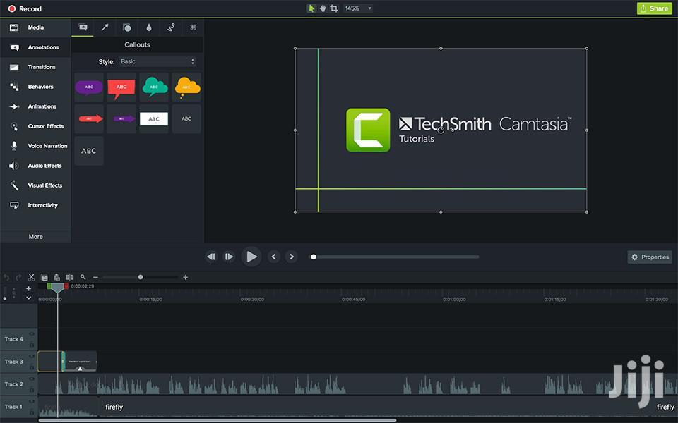 Camtasia 2019 | Screen Recording Video Editing Software | Software for sale in Kumasi Metropolitan, Ashanti, Ghana