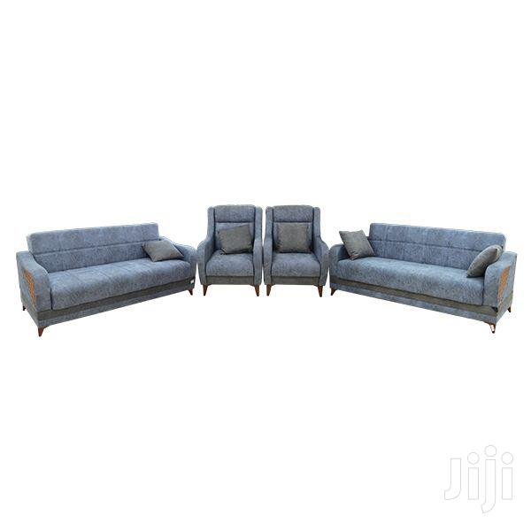 8 Seater Sofa Set( 3+3+1+1) Tufted Cushioned Seat | Furniture for sale in Achimota, Greater Accra, Ghana