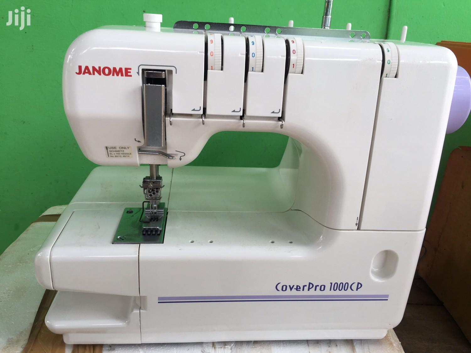 Archive: Janome Knitting Machine From U.K For Sale