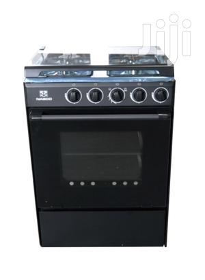 Quality Nasco 4 Burner Gas Cooker With Oven Glass Cover