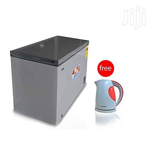 Nasco 200litres Chest Freezer (Nas-210)+Kettle