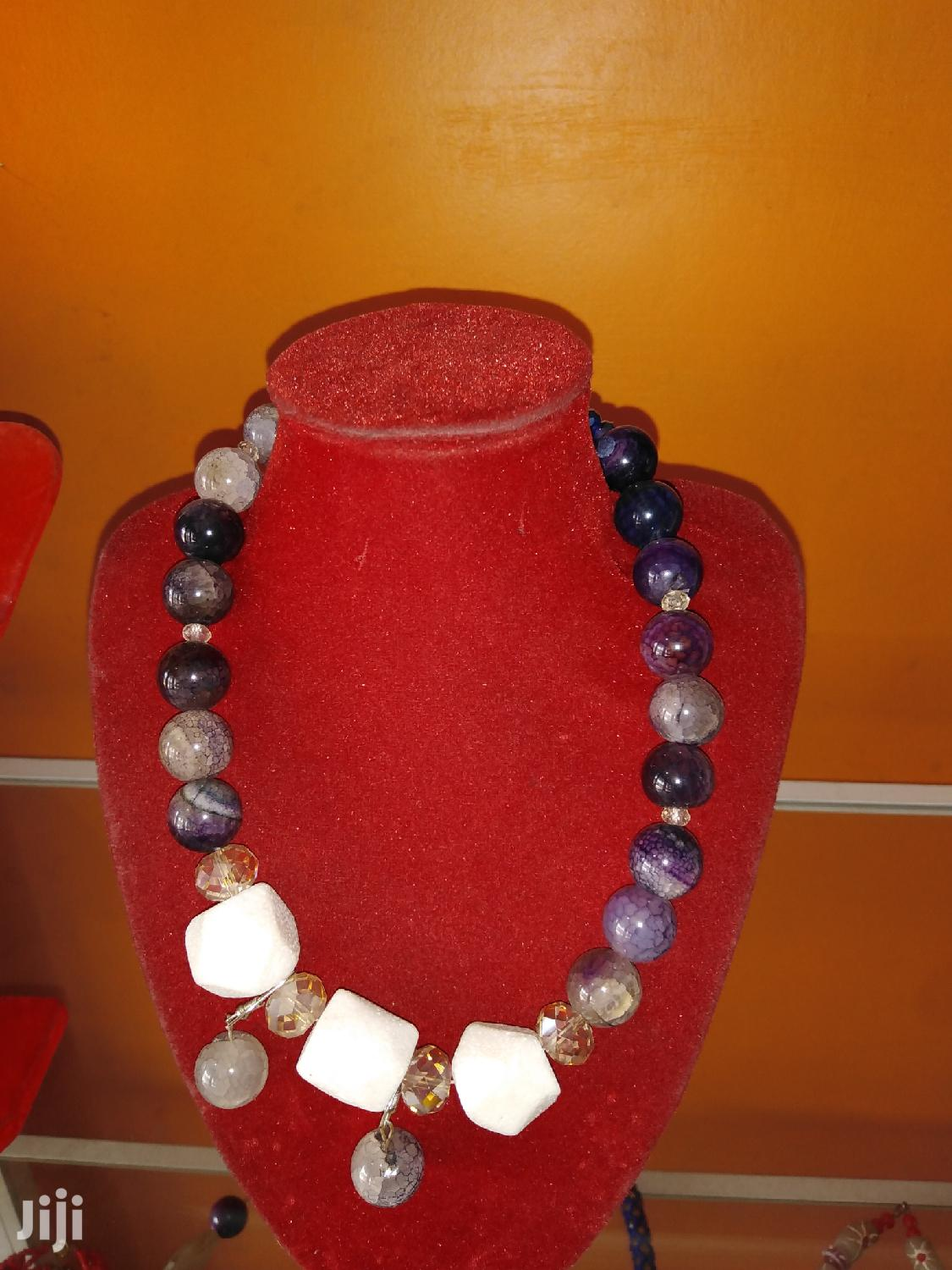 Archive: Stone Bead Necklace