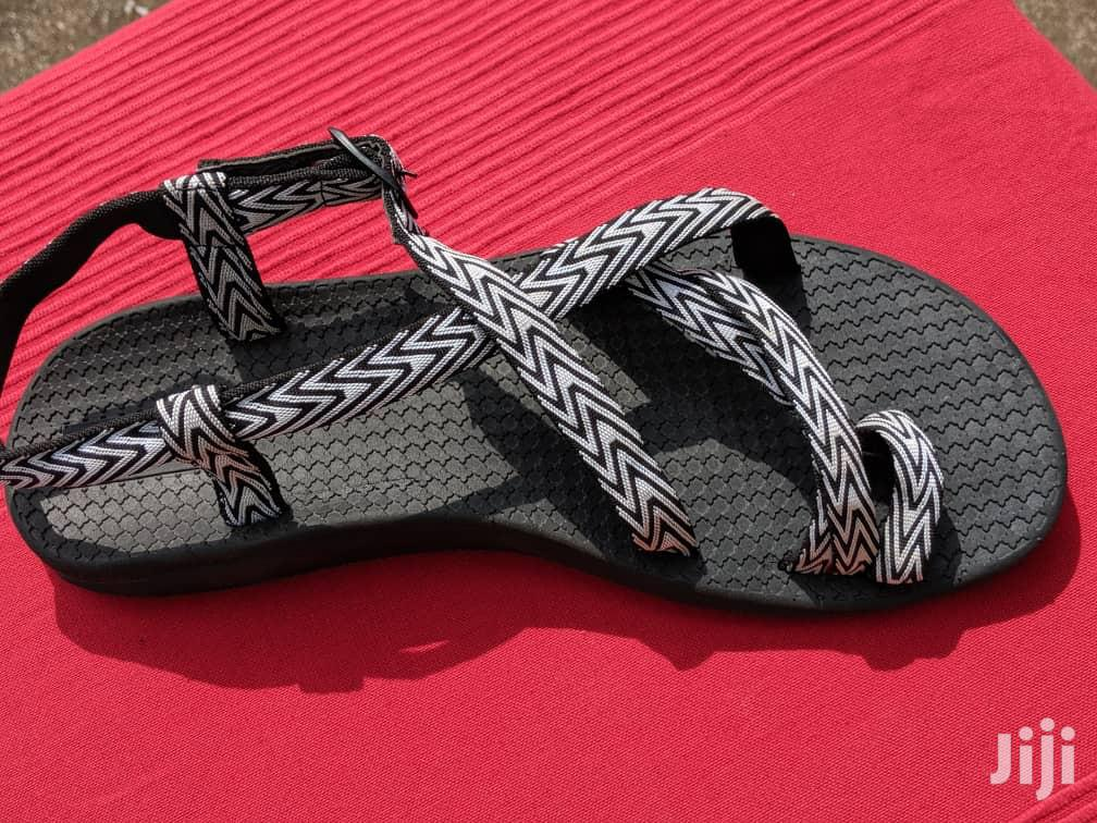Black White Ladies Sandals From U.K for Sale