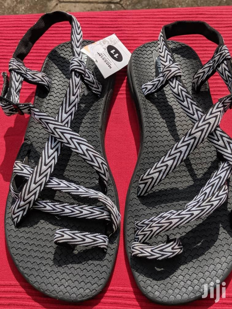 Black White Ladies Sandals From U.K for Sale | Shoes for sale in North Kaneshie, Greater Accra, Ghana