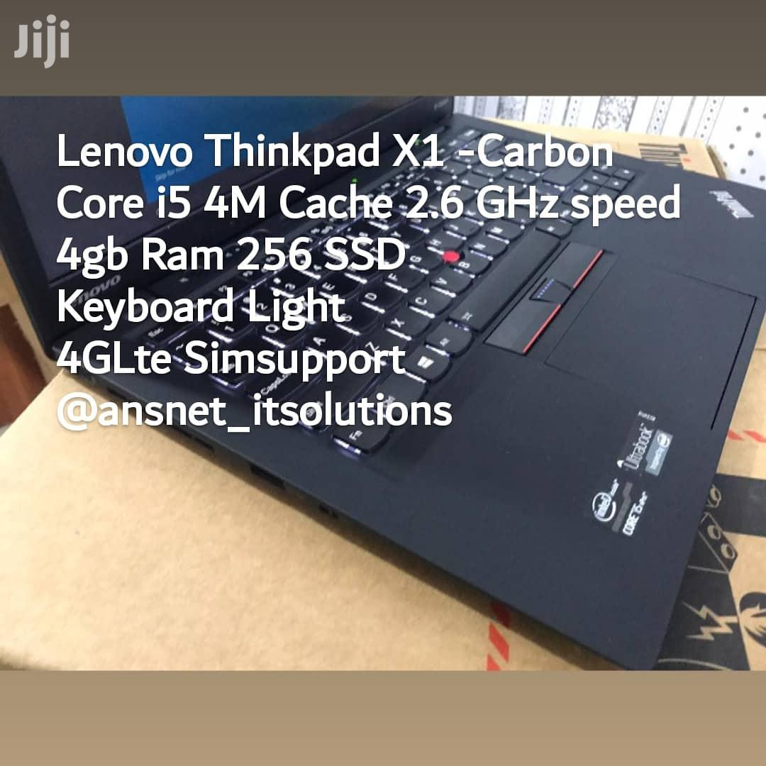 New Laptop Lenovo ThinkPad X1 Carbon 4GB Intel Core i5 SSD 256GB   Laptops & Computers for sale in Burma Camp, Greater Accra, Ghana