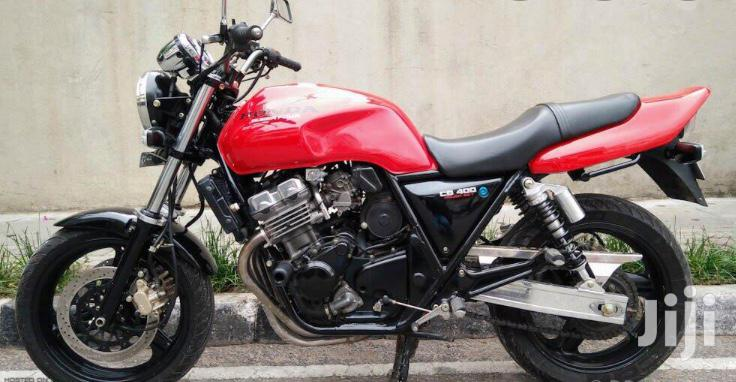 Archive: Honda CB 2018 Red