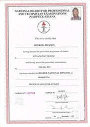 Advertising Marketing CV | Advertising & Marketing CVs for sale in Greater Accra, Dzorwulu