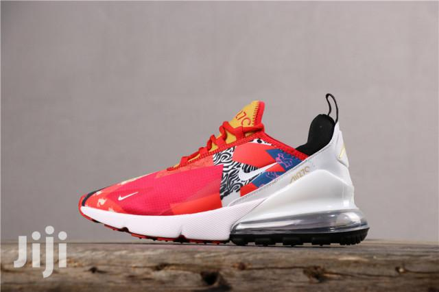 Nike Air Max 270 Sneakers White Red