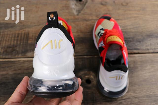Nike Air Max 270 Sneakers White Red | Shoes for sale in East Legon, Greater Accra, Ghana