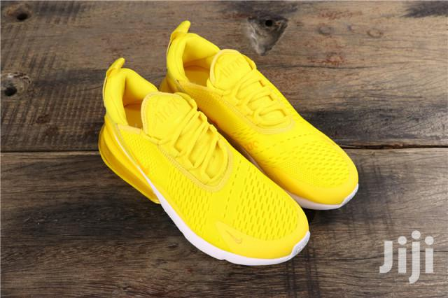 Archive: Summer Nike Air Max 270 Sneakers Yellow