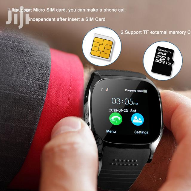 T8 Smart Watch With Magnetic Earphone