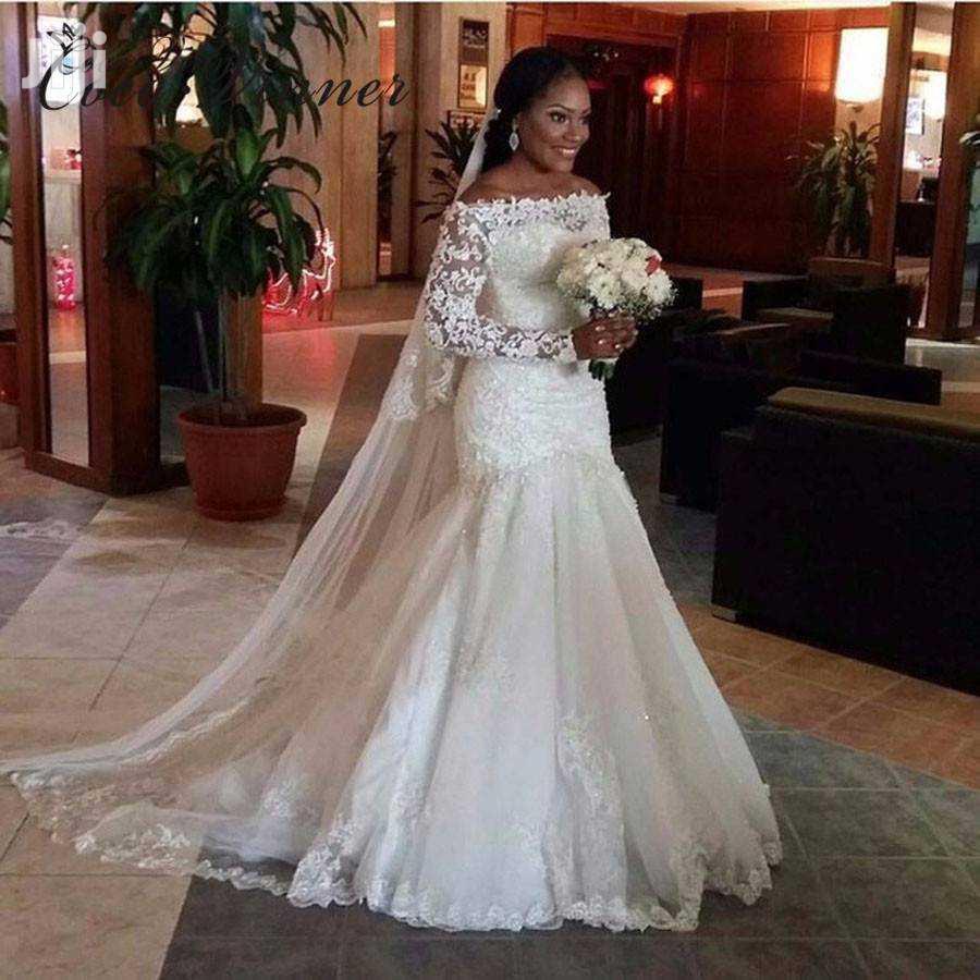 Archive: Fishtail Off Shoulder Wedding Dress