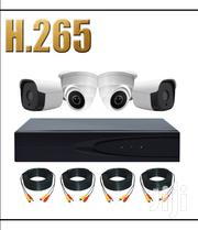 H.265 4MP HD Kit 2pcs Metal Bullet And 2pcs Metal Dome CCTV Camera | Security & Surveillance for sale in Greater Accra, Teshie new Town