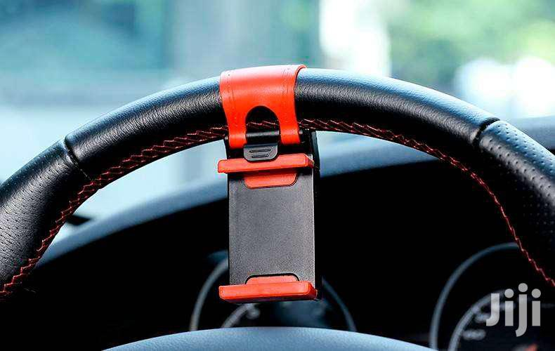 Car Steering Phone Holder (GPS   Vehicle Parts & Accessories for sale in Kwashieman, Greater Accra, Ghana