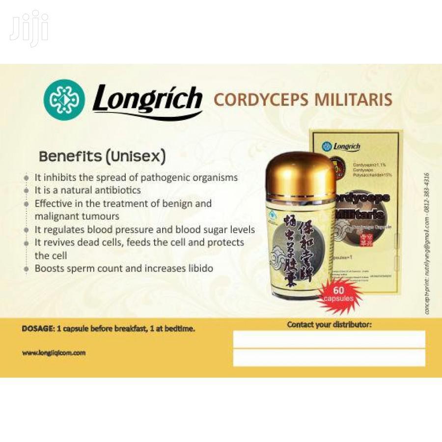 Archive: Longrich Cordyceps Military Capsule