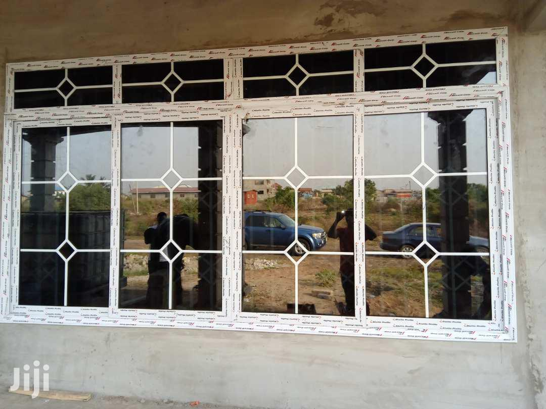 Archive: Aluminum Fabrication Windows And Doors Profile